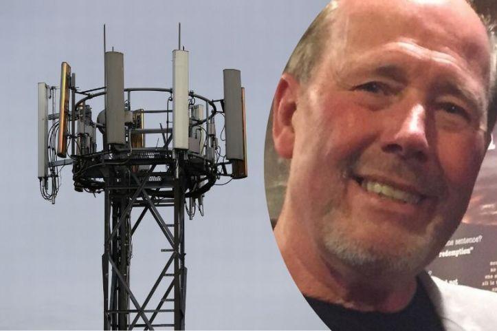 Christopher Baker is worried 5G could have potentially harmful effects